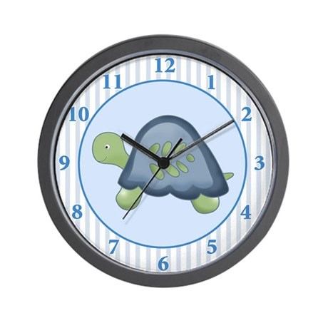 Turtle Reef Wall Clock