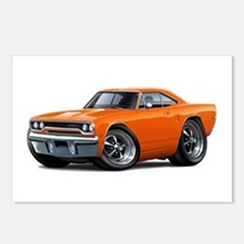 1970 Roadrunner Orange Car Postcards (Package of 8