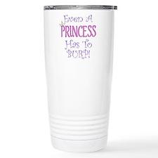 Even A Princess Burps Travel Mug