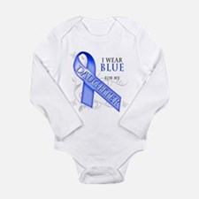 I Wear Blue for my Daughter Long Sleeve Infant Bod