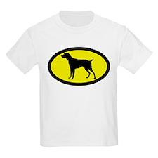 German Wirehaired Pointer Kids T-Shirt