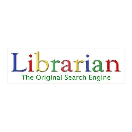 Librarian 20x6 Wall Peel