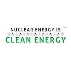 Nuclear Energy Is Clean Energy 36x11 Wall Peel