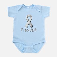Lung Cancer Fighter Infant Bodysuit