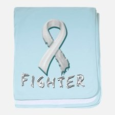 Lung Cancer Fighter baby blanket