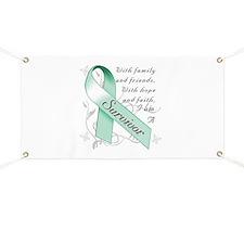 Ovarian Cancer Survivor Banner