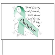Ovarian Cancer Survivor Yard Sign