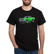 1970 Roadrunner Green-Black Car T-Shirt