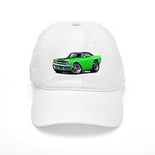 1970 Roadrunner Green-Black Car Baseball Cap