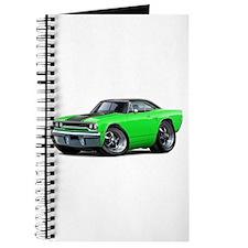 1970 Roadrunner Green-Black Car Journal