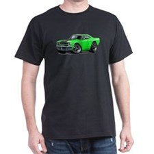 1970 Roadrunner Green-Black Car T-Shirt