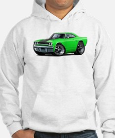 1970 Roadrunner Green-Black Car Hoodie