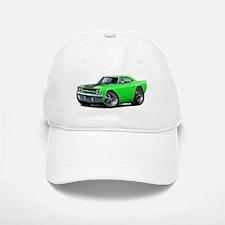 1970 Roadrunner Green-Black Car Baseball Baseball Cap