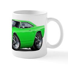1970 Roadrunner Green-Black Car Mug