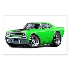 1970 Roadrunner Green-Black Car Decal
