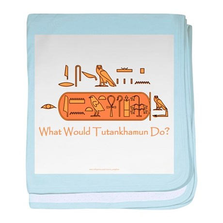 What Would Tutankhamun Do? baby blanket