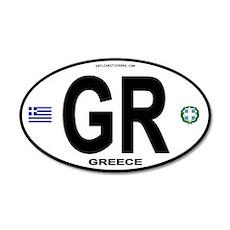 Greece Intl Oval 20x12 Oval Wall Peel