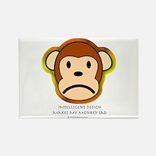 Intelligent Design Makes My Monkey Sad... Rectangl