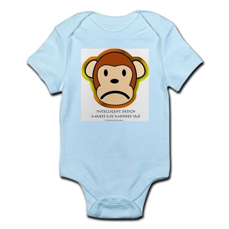 Intelligent Design Makes My Monkey Sad... Infant C