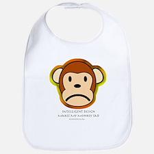 Intelligent Design Makes My Monkey Sad... Bib