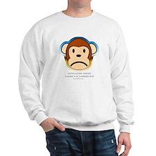 Intelligent Design Makes My Monkey Sad... Sweatshi