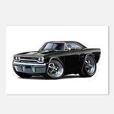 1970 Roadrunner Black Car Postcards (Package of 8)