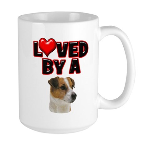 Loved by a Jack Russell Large Mug