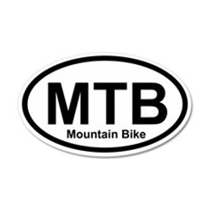 MTB - Mountain Bike 20x12 Oval Wall Peel