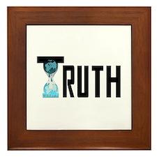 Truth Wikileaks Framed Tile
