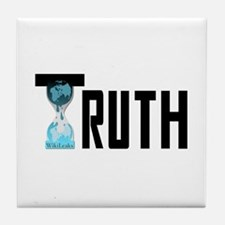 Truth Wikileaks Tile Coaster