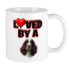 Loved by a Springer Spaniel Mug