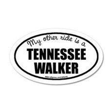 My Other Ride Is A Tennessee Walker Wall Decal