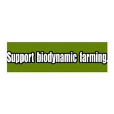 Support Biodynamic Farming 36x11 Wall Peel
