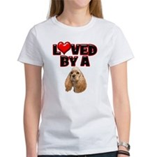 Loved by a Cocker Spaniel Tee