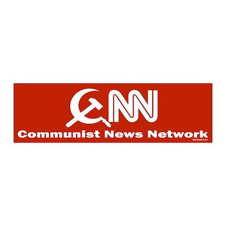 CNN - Commie News Network 20x6 Wall Peel