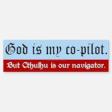 Navigator Cthulhu Bumper Bumper Bumper Sticker