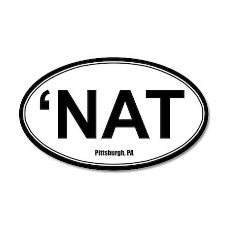 'Nat Sticker - White
