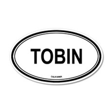 Tobin oval 20x12 Oval Wall Peel