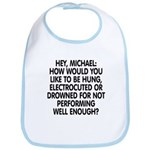 Hey, Michael Bib