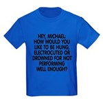 Hey, Michael Kids Dark T-Shirt