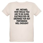 Hey, Michael Organic Kids T-Shirt