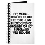 Hey, Michael Journal