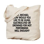 Hey, Michael Tote Bag