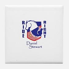 Daniel Stewart Ride Right Tile Coaster