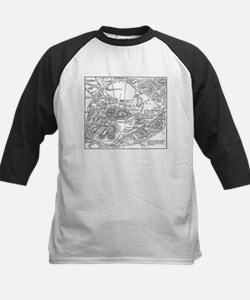 Ancient Athens Map Tee