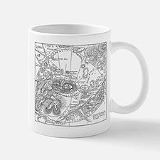 Ancient Athens Map Mug