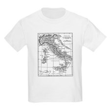 Augustus' Italy Map T-Shirt