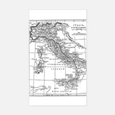 Augustus' Italy Map Decal
