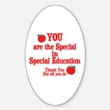 Special Education Sticker (Oval)