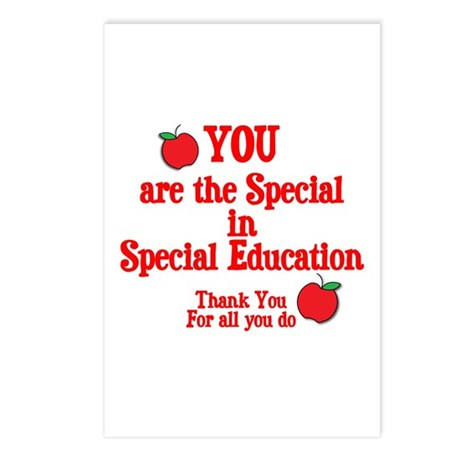 Special Education Postcards (Package of 8)